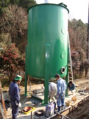 リキッド原料用攪拌タンク(2)