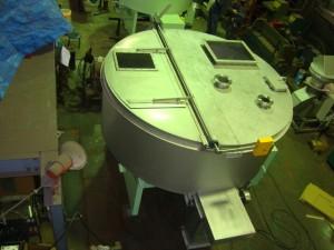 塗料汚泥混合用攪拌混合機うず20型