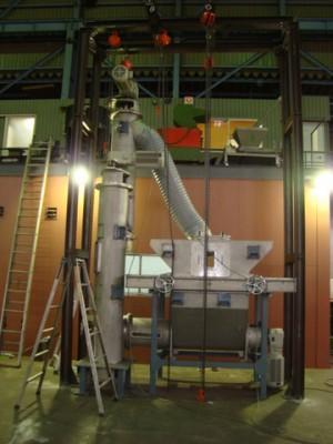 大型垂直型スクリューテスト機1